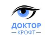 Логотип Доктор Крофт - клиника коррекции зрения в Воронеже